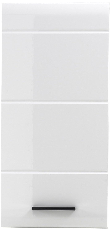 Furnline 1116-501-01 Skin High Gloss Bathroom Wall Mounted Cupboard, White