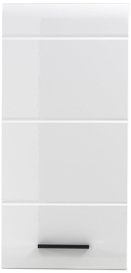 Trendteam Badezimmer Hängeschrank, Wandschrank Skin Gloss, 30 X 77 X 23 Cm  In Weiß