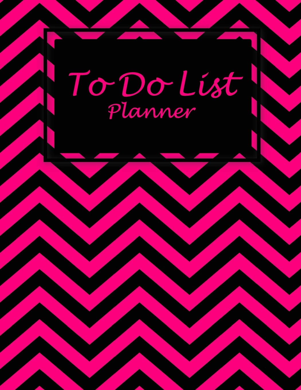 To Do List Planner: Beauty Black Pink Book, 2019 Monthly Schedule
