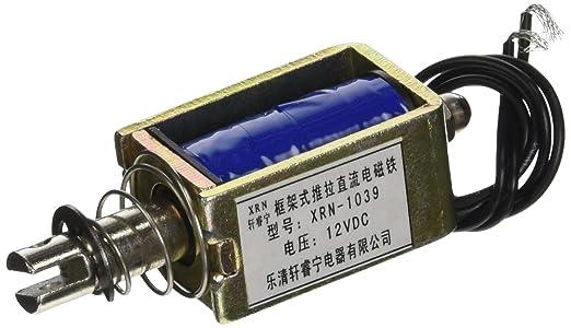2 opinioni per sourcingmap® Aperto Telaio Push A strappo 10mm 5Kg Elettrico Elettromagnete