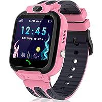 Reloj inteligente para niños con rastreador GPS/LBS, reloj inteligente para niños y niñas de 3 a 12 años de dos vías con…