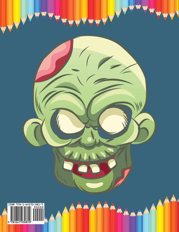 Monstruos: Libro para colorear niños: Amazon.es: Bold Illustrations ...