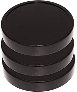 Blendin Black Jar Lid, Fits Original Magic Bullet Blender Juicer 250W MB1001 (3 Pack)