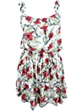 Free People Womens Dear You Floral Print Sleeveless Sundress
