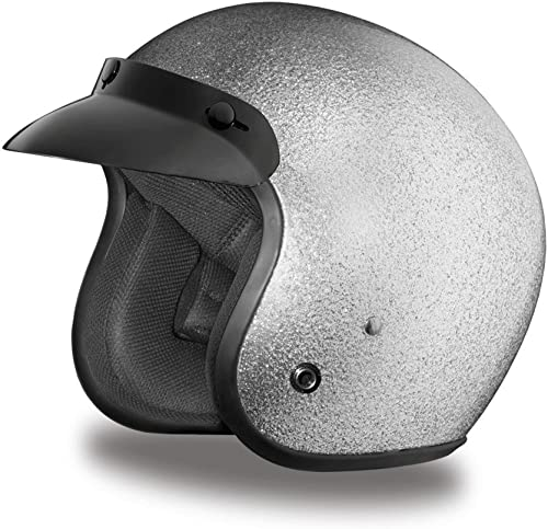 Daytona Helmets Motorcycle Open Face 3/4 Helmet Cruiser
