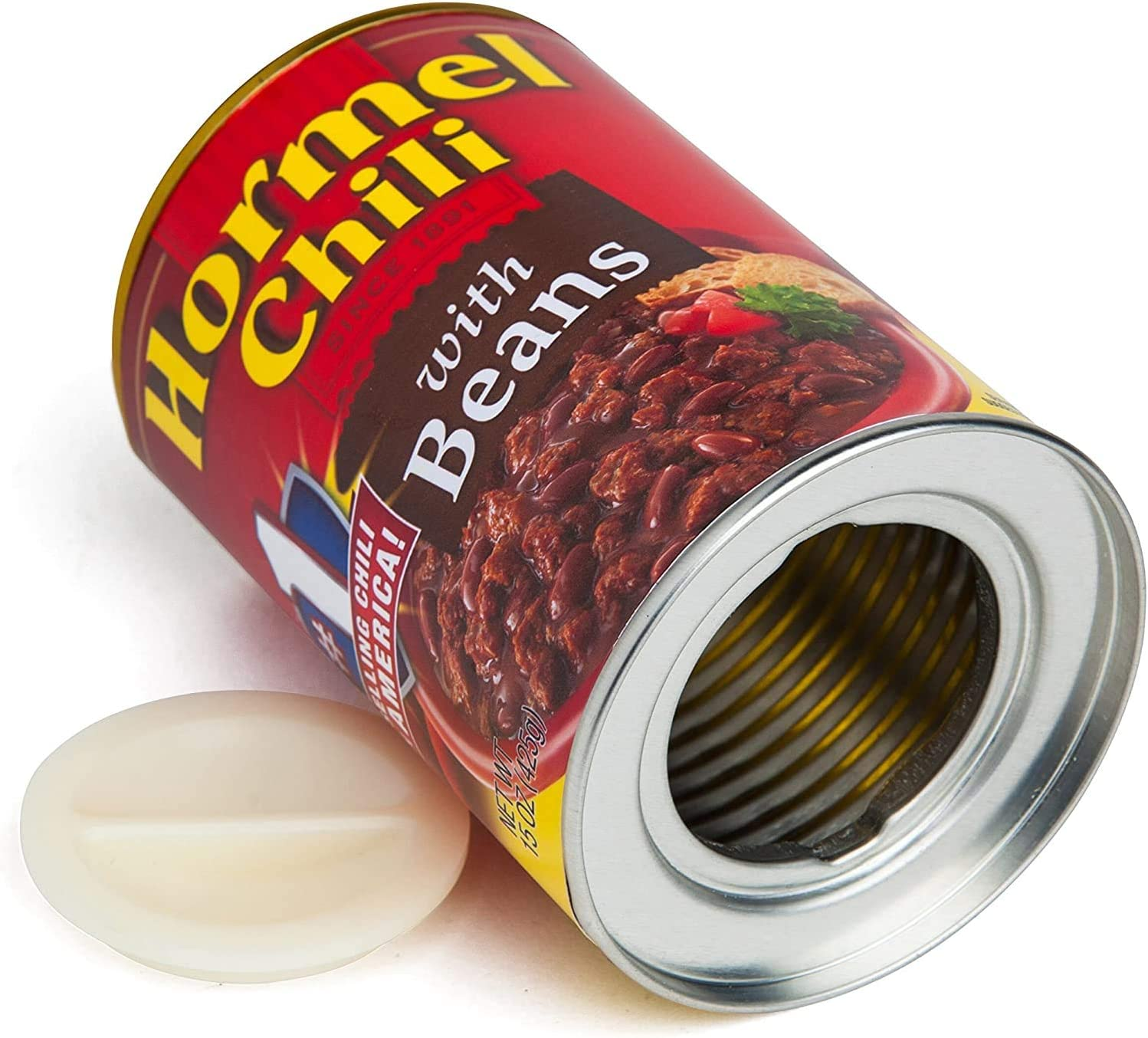 BigMouth Inc Hormel Corned Beef Hash Can Safe —Great Hiding Place for Storing Valuables, 3