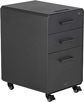Amazon Com Vari File Cabinet For Office Storage With Three