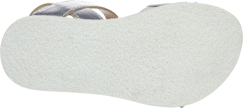 Chetto 1118005, Sandali con Chiusura sul Retro Bambina Bianco Blanco L05