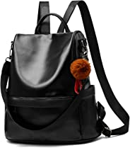 Cheruty Women Backpack Purse PU Leather Anti-Theft Casual Shoulder Bag Fashion Ladies Satchel Bag