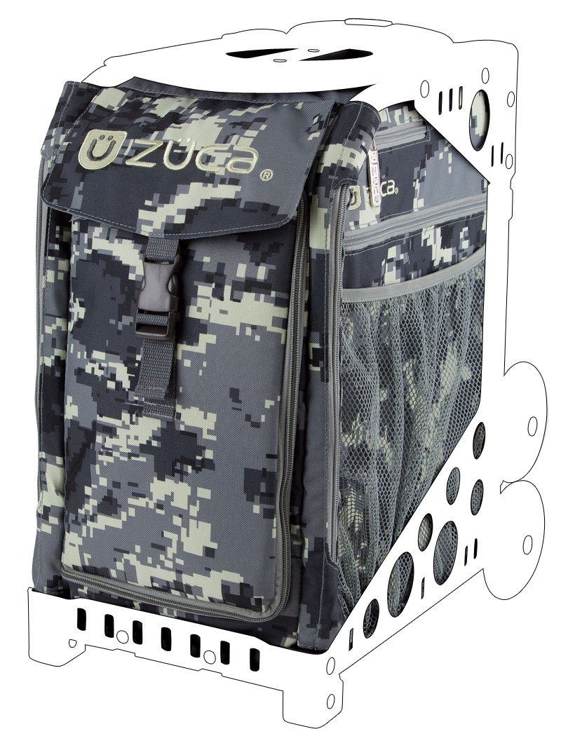 Zuca Anaconda Sport Insert Bag (Camouflage in Gray and Black, for any Zuca Sport Frame) [insert only - no frame] by ZUCA