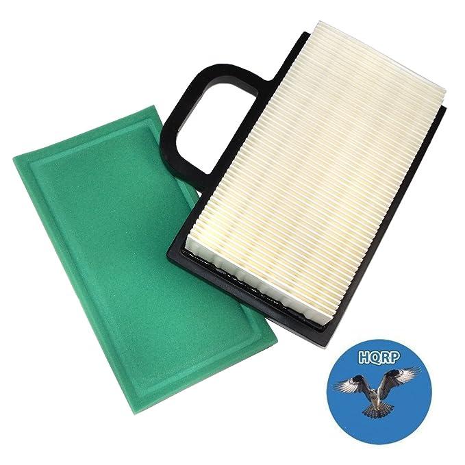 HQRP - Cartucho de filtro de aire w/pre-cleaner para Briggs ...