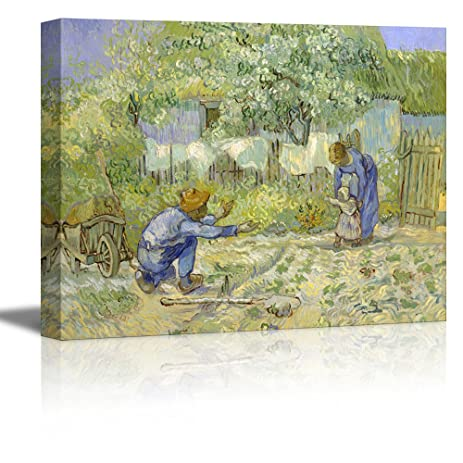 Amazon Wall26 First Steps After Millet By Vincent Van Gogh