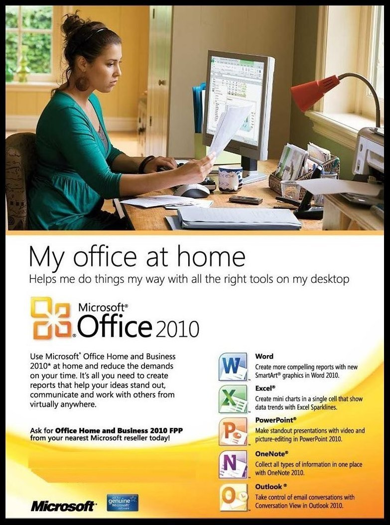 Amazon.com: Microsoft Office 2010 Home & Business (DVD Version ...