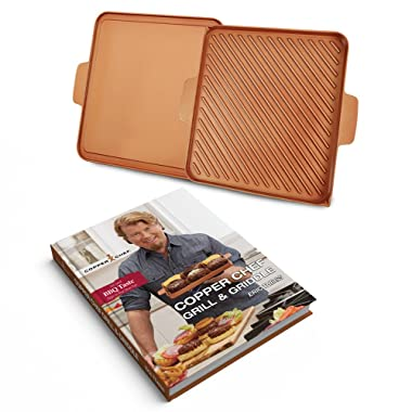 Tristar Products CCGGB Chef Grill & Griddle Hard Cover Cook Book, 12 , Copper