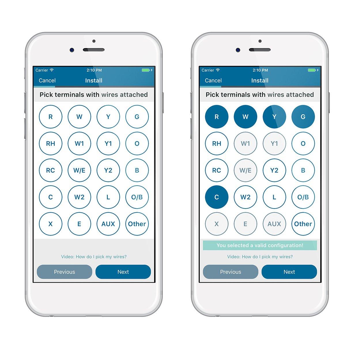 Sensi Wi-Fi Programmable Thermostat, 1F86U-42WF for Smart Home by White-Rodgers: Amazon.es: Bricolaje y herramientas