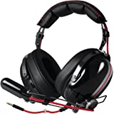 ARCTIC P533 - Stereo Gaming Headset I Hi-Fi-Sound I Boom Microphone I Headphone for Gaming with 3.5 mm Jack I Ultra-Comfortable I for PC Computer Gaming, Xbox, Playstation Racing Black
