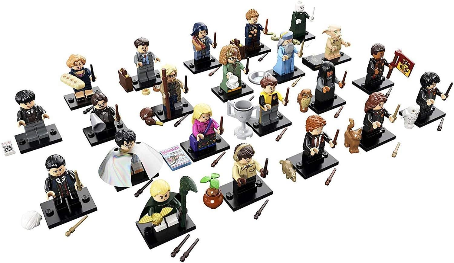 Lego Harry Potter Fantastic Beasts Minifigure Series Complete Set Of 22 71022 Toys Games