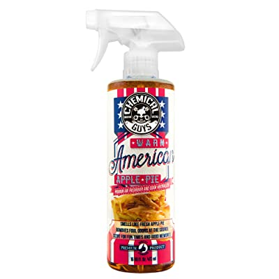 Chemical Guys AIR22716 Air Freshener & Odor Eliminator (Warm American Apple Pie), 16 fl. oz: Automotive