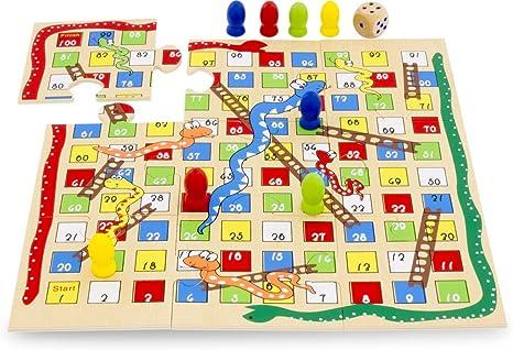 Ulysses 23105 - Juego de Serpiente y Escalera: Amazon.es: Juguetes y juegos