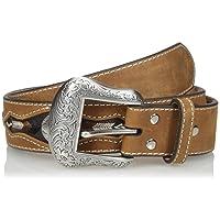 Nocona Men's Buffalo Concho Inlay Belt