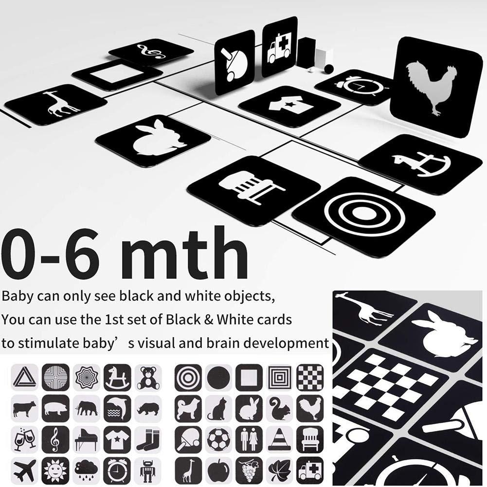 Black /& White Board Book Baby Sees Colors Goodtimera Baby Touch First Focus Kontrastreiches Spielzeug F/ür Neugeborene