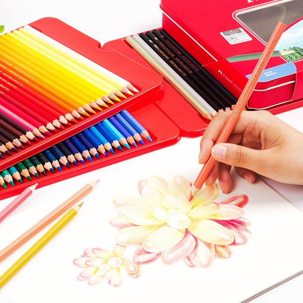 Wanlianer Stift Malen Ölige Farbe Farbe Farbe Bleistift 100 Farbe Malerei Farbe Führen Rote Box Professionelle Pinsel Set Handbemalt Bunte Stifte B07FL6C1CR   Ruf zuerst  a585c6