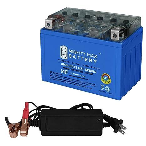 Amazon.com: YTZ12S Gel – Cargador de batería para Honda 700 ...