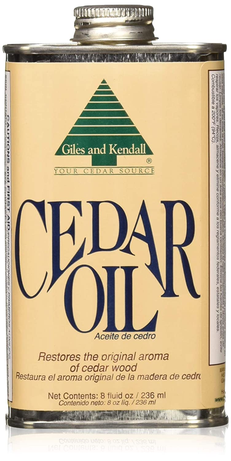 Amazon.com : Giles and Kendall Cedar Oil Restores the Original Aroma of Cedar Wood, 8 Fluid oz / 236 ml - 2 Pack : Beauty
