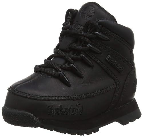 Timberland Euro Sprint, Zapatillas de Senderismo Unisex-Niño, Negro (Black), 23 EU: Amazon.es: Zapatos y complementos