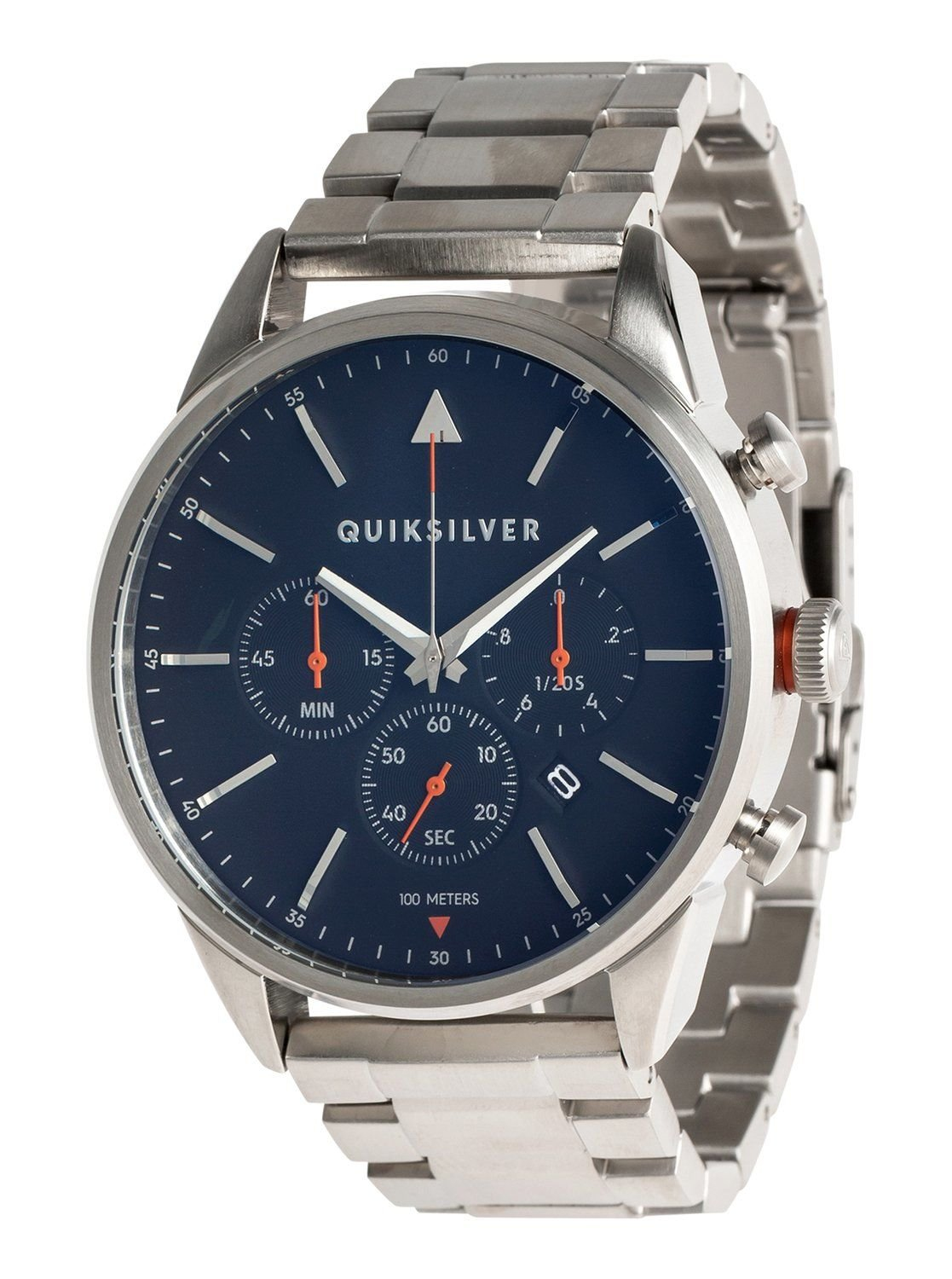 The Timebox Chrono Metal -quiksilver analogic watch EQYWA03025