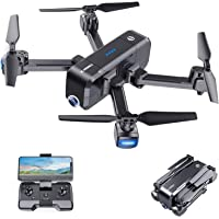 $124 » SANROCK X103W 2.7K Camera Drone for Adults Kids Beginners, Foldable Drones RC…