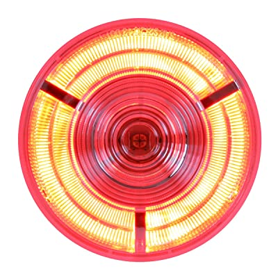 "Grand General 74881 Red 4"" Prime LED Sealed Light: Automotive"