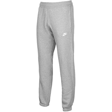 91a8055534f2 Nike Mens AW77 Cuffed Fleece Lined Joggers Track Sweat Pants (Black ...