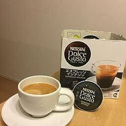 Amazon ネスカフェ ドルチェグスト 専用カプセル エスプレッソインテンソ 16杯分 カフェポッド コーヒーカプセル 通販