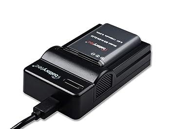 Batterytec® Batería de Repuesto para Nikon EN-EL23 y Kit de Cargador portátil Micro USB, para Nikon S810c Coolpix P900 P900s B700 P600 P610 P610s ...