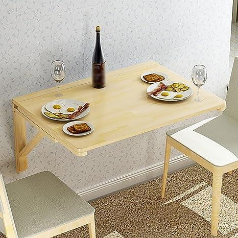 Scrivanie WSSF- Tavoli pieghevoli tavolo a parete legno massello ...