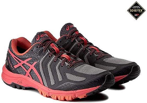 Asics Gel-FujiAttack 5 Gore-TEX - Zapatillas de running para mujer, color Multicolor, talla 45 EU: Amazon.es: Deportes y aire libre