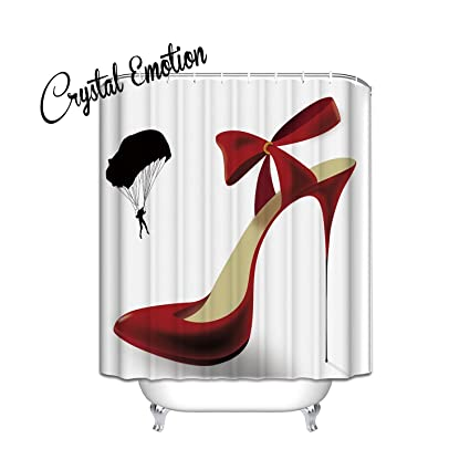 Image Unavailable Not Available For Color Chic Dressed To Thrill Fabric Shower Curtain