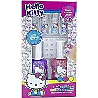 Berry Hip Kit de Uñas 3D, Esmaltes y Accesorios para Niña (Hello Kitty)