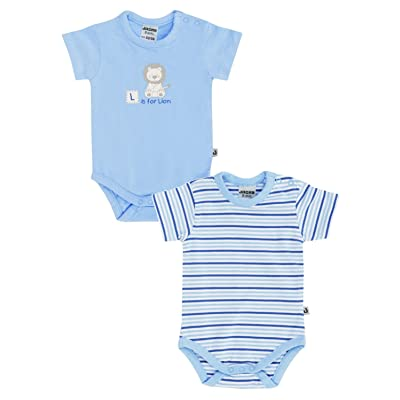 Jacky Baby - Body - Bébé (garçon) 0 à 24 mois bleu bleu clair S