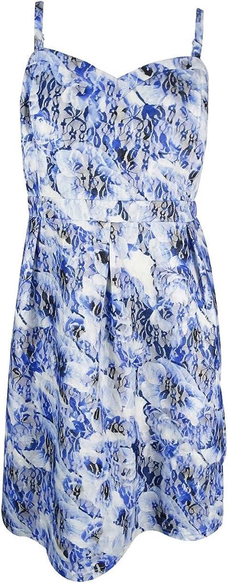 Lepel Swimwear Riviera Plunge Bikini Top 60060 Blue White