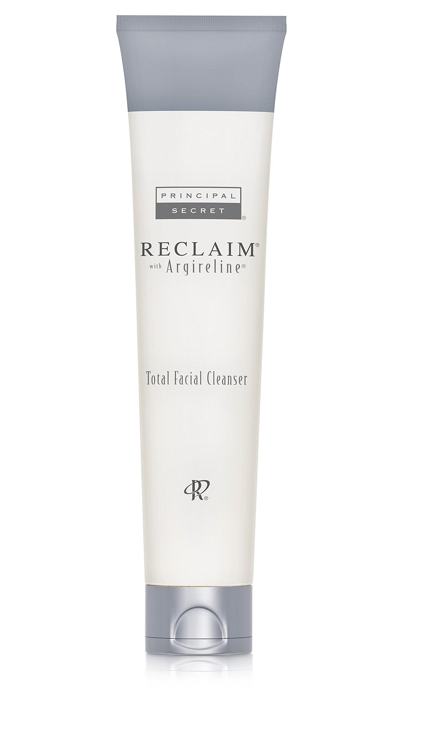 Principal Secret – Reclaim with Argireline – Total Facial Cleanser – 90 Day Supply/6 Ounces