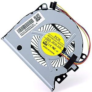Deal4GO CPU Cooling Fan DFS501105PR0T Replacement for HP Envy X360 15-U 15T-U 15-U010DX 13-A 13-B 13-A000 13-A100 13-A010DX 13-A013CL 858970-001 776213-001