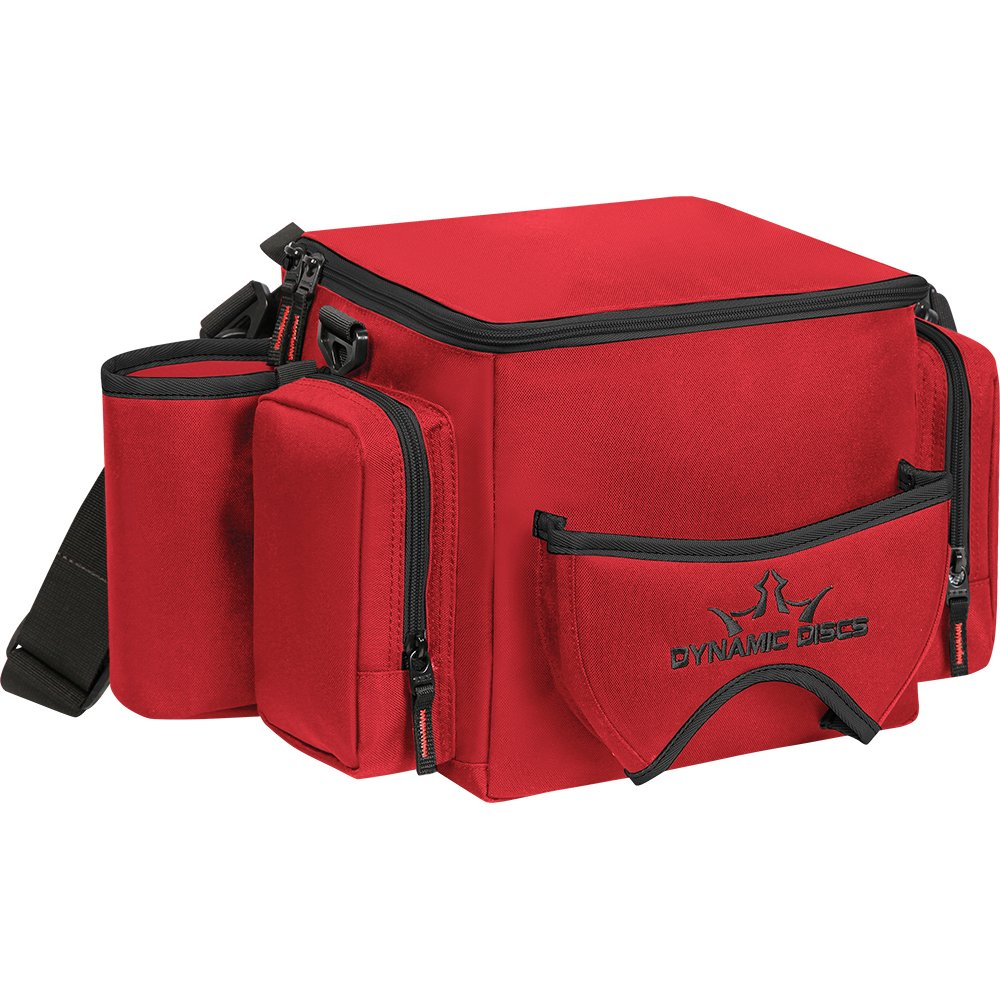Dynamic Discs Soldier Cooler Disc Golf Bag (Red) by Dynamic Discs