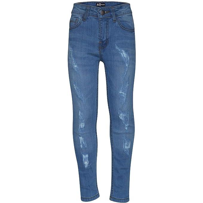 A2Z 4 Kids/® Kids Girls Stretchy Jeggings Designers Black Denim Stylish Jeans Pants Fashion Trousers Leggings New Age 2 3 4 5 6 7 8 9 10 11 12 13 Years
