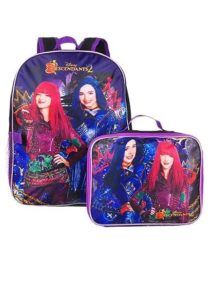 17ebc00f34e Disney Descendants 2 16 quot  Backpack With Detachable Matching Lunch Box