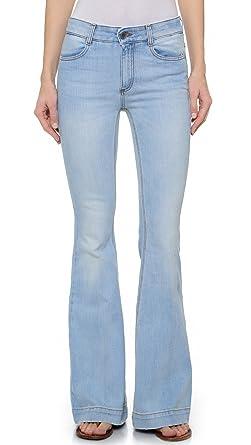 d0c7113b4d671 Stella McCartney Women s Faded  70s Flared Jeans at Amazon Women s ...