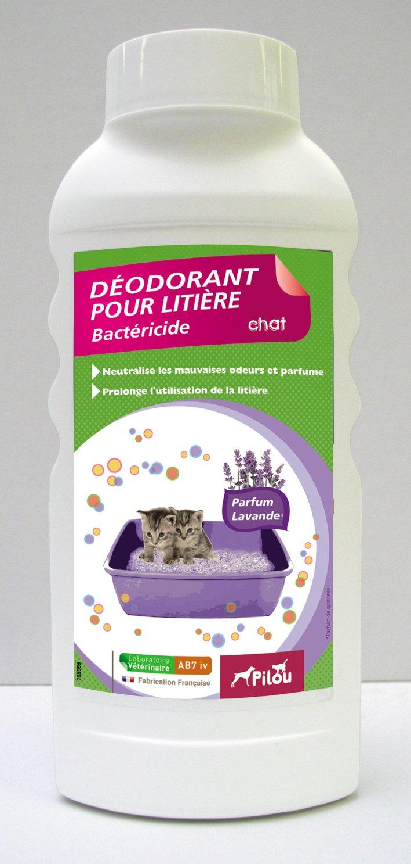 PILOU Desodorante para Arena de Gato (Aroma de Aroma de Lavanda para Gato: Amazon.es: Productos para mascotas