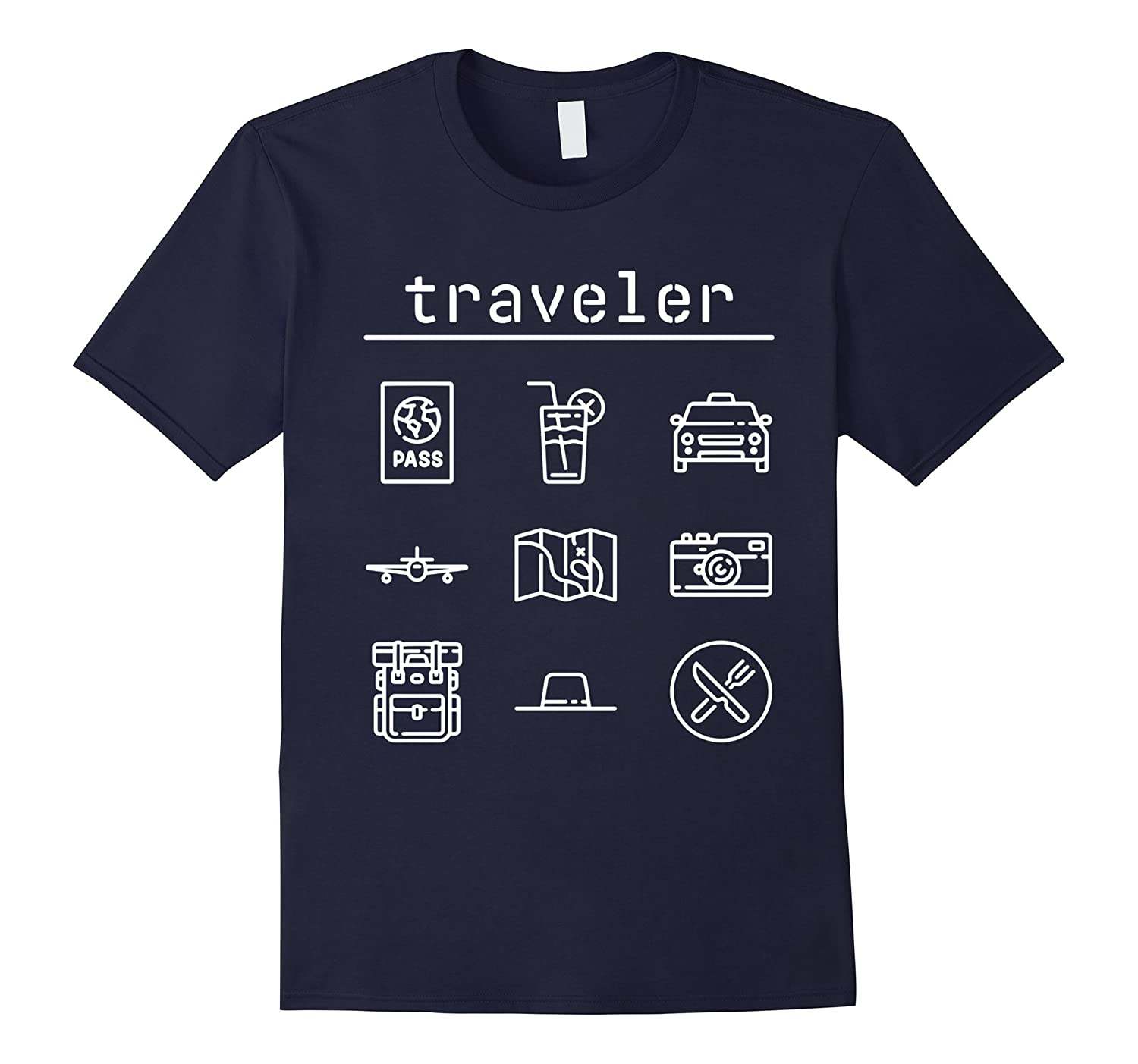 Travelling Icons T-Shirt