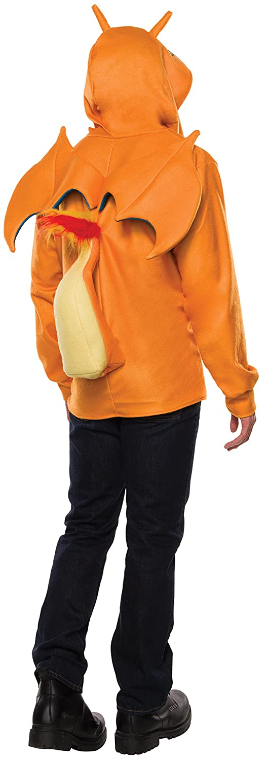 Amazon Com Rubie S Men S Pokemon Charizard Hoodie Multi Standard